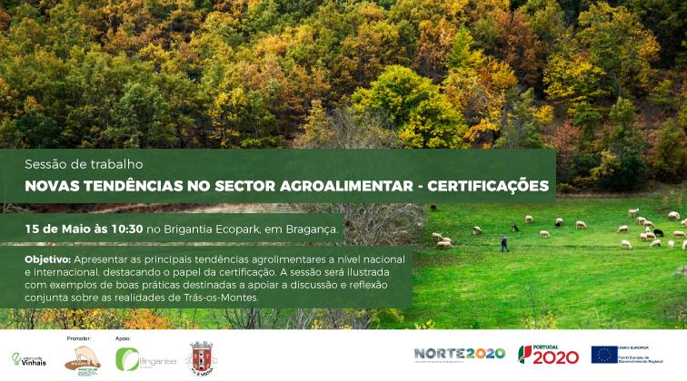 Novas tendências do setor agroalimentar – Certificações