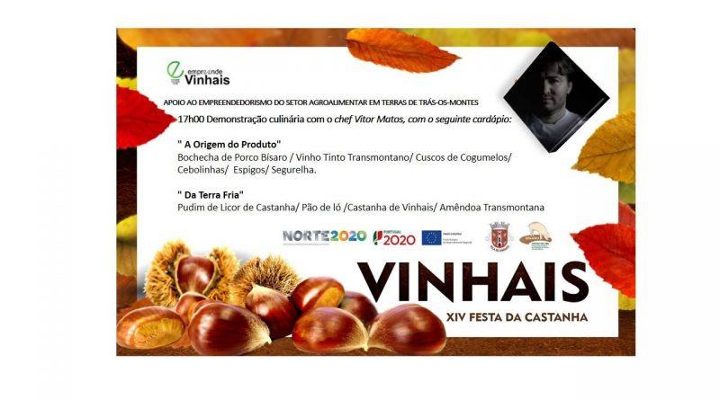 Promoção gastronómica de Terras de Trás-os-Montes – Chef Vítor Matos